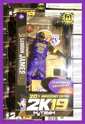 Lebron James NBA LA Lakers McFarlane Toys Figure Rare for Sale in Artesia, CA