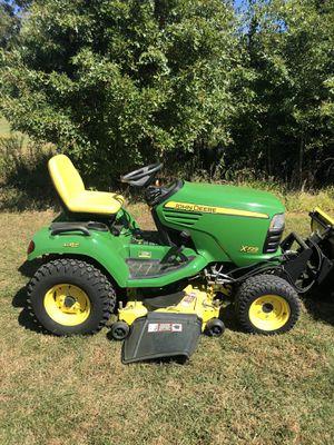 John Deere X729 4x4 All Wheel Steer Tractor W/Mower/Snowplow/Clam Shell Bucket for Sale in East Greenville, PA