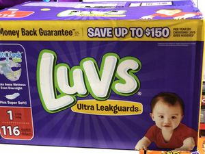 Luvs diapers for Sale in Normal, IL
