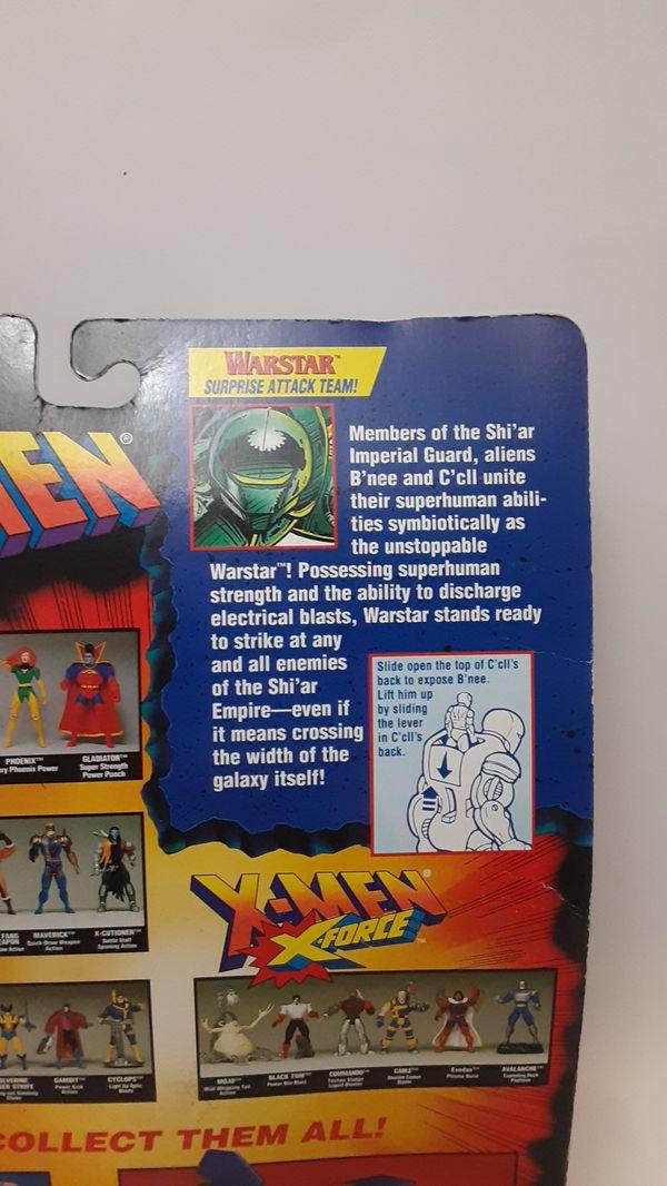 1995 toy Biz Marvel Comics X-Men figure warstar
