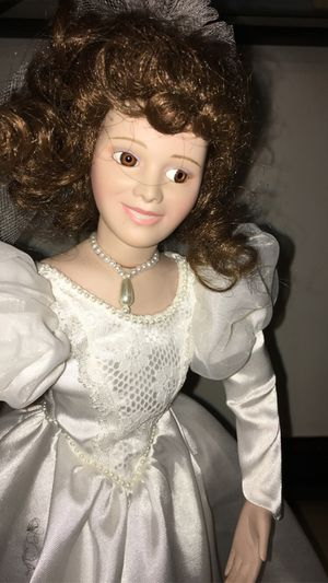 Antique Glass Wedding Doll for Sale in Chicago, IL