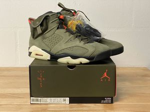 Air Jordan 6 Travis Scott, New with Tags - size 13 for Sale in Clearwater, FL