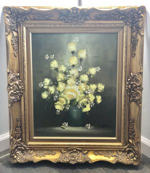 19th Century Original Painting By C. English for Sale in Rockville, MD