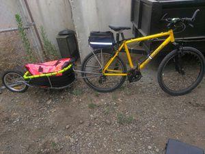 Bike and trailer for Sale in Chula Vista, CA