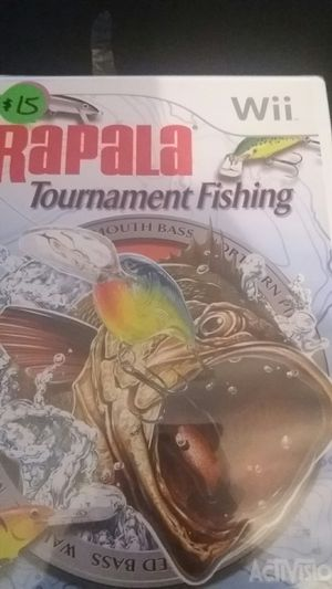 RAPALA Tournament Fishing (Nintendo Wii + Wii U) NEW! for Sale in Lewisville, TX