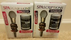 New Spascriptions glitter mask- $5 each, retails $10.99 at CVS for Sale in Rockville, MD