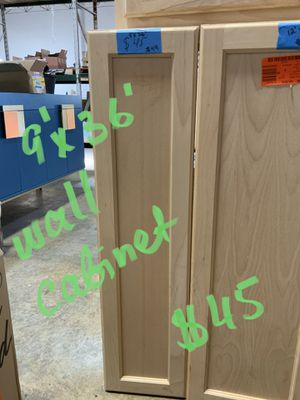 Various mismatched kitchen cabinets/ visit our website for more options for Sale in Grove City, OH