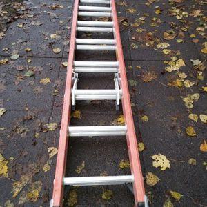16ft Werner Fiberglass Ladder for Sale in Renton, WA