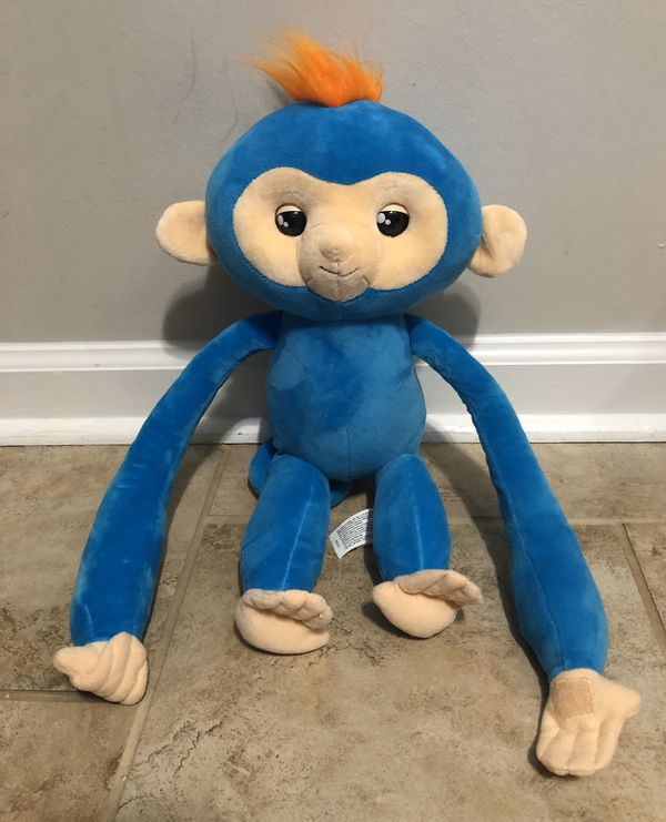 Fingerling hugs interactive monkey