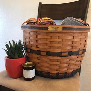 Vintage Longaberger J.W. Collection 1991 Edition Corn Basket for Sale in Brighton, CO
