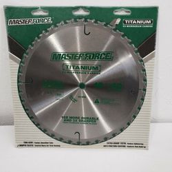 "Masterforce Titanium C3 Micrograin Carbide General Purpose 10"" 40 Teeth Saw Blade NEW for Sale in Phoenix,  AZ"