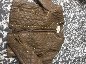 Women's Michael Kors leather jacket for Sale in Chicago, IL