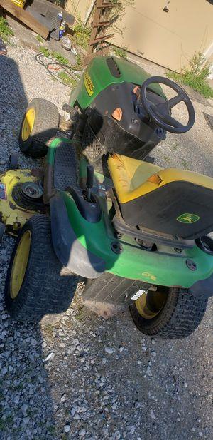 John deer l130 riding lawn mower for Sale in Enumclaw, WA