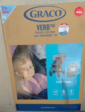 ( BRAND NEW ) Graco Verb Click Connect Travel System - Perry for Sale in Kingsburg, CA