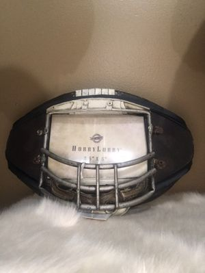 Resin Metal Face Guard Picture Frame for Sale in New Haven, CT