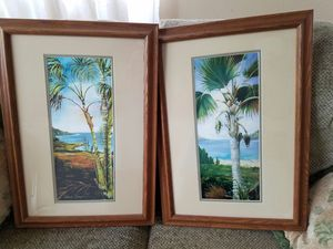 two coconut tree pictures for Sale in Kailua-Kona, HI