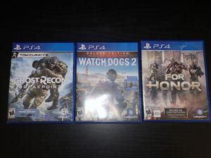 PS4 Games bundle obo for Sale in Manteca, CA