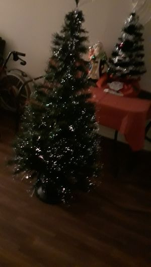 Christmas tree 5ft fiber optic 15.00 no lower for Sale in Phoenix, AZ