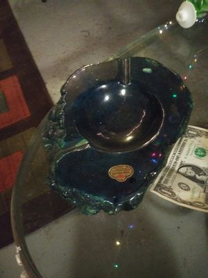 Rare blue alabaster ashtray for Sale in Clifton Heights, PA