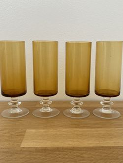Vintage Amber Champagne Glasses for Sale in Miami,  FL
