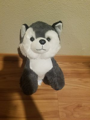 Husky plushie for Sale in Portland, OR