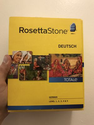 Rosetta Stone German for Sale in Washington, DC