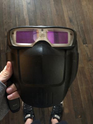 Servore auto tint welding hood. Shades 5-13 w/grinding mode. Great for hard to reach/fit applications. for Sale in Whiteriver, AZ