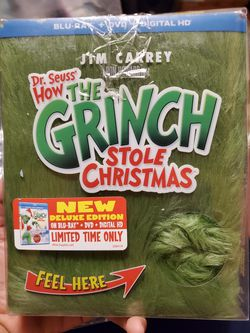 The grinch bluray for Sale in El Paso,  TX