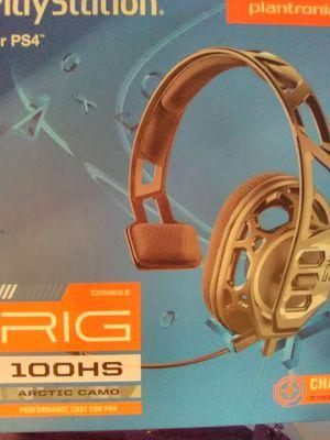 PS4 headset for Sale in Ashburn, VA
