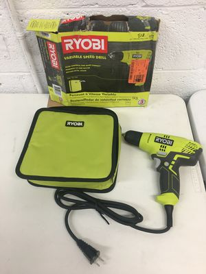 Ryobi 5.5 Amp Corded 3/8 in. Variable Speed Compact Drill for Sale in Mesa, AZ
