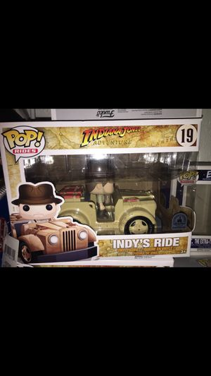 Disney Parks/NYCC Indy Ride Funko Pop for Sale in Sanger, CA