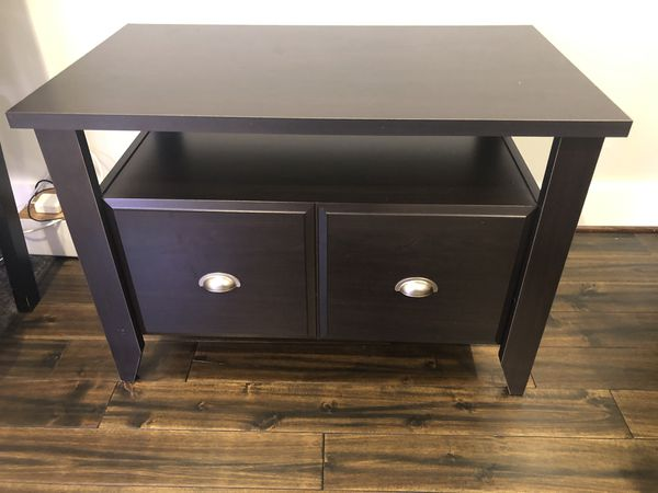 Horizontal filing cabinet/printer stand