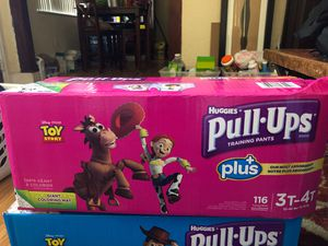 Huggies Pull-Ups, 3T-4T, 116 Count for Sale in Biscayne Park, FL
