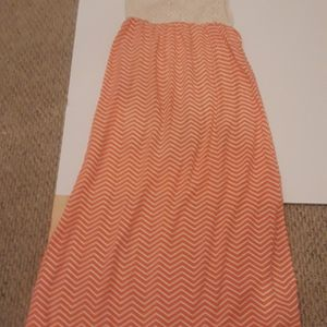 Long Sleeveless Maxi Dress Coral for Sale in College Park, MD