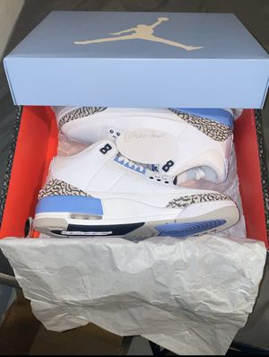 Jordan's 3 unc unreleased for Sale in Lake Worth, FL