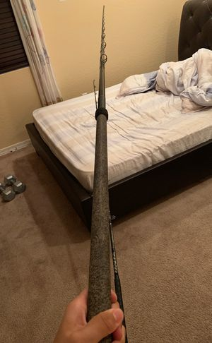 Calstar 90j 9 feet custom wrapped fishing rod for Sale in Chandler, AZ