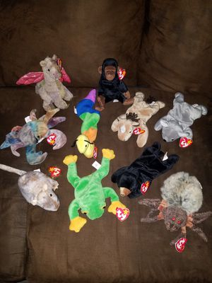 BEANIE BABIES VARIETY OF ANIMALS LOT for Sale in Alameda, CA