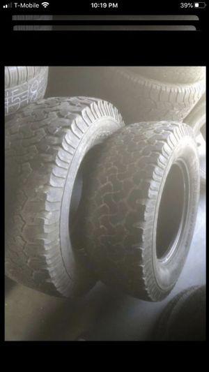 2 tires 305/65/18 BFGOODRICH 50% tread for Sale in Temecula, CA