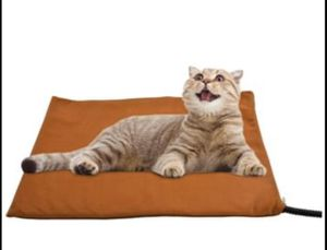 Pet Heating Pad for Cats Dogs, Auto Temperature Control Waterproof Indoor, Animal Bed Warmer House Heater Heated Floor Mat, Soft Cover, Met Safety Li for Sale in Aurora, IL