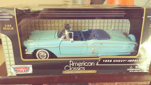 58 Chevy impala scale model in original box never opened asking for Sale in Las Vegas, NV