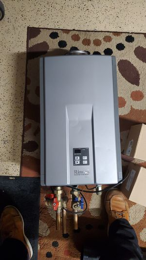 Rinnai tankless water heater natural gas for Sale in Oceanside, CA