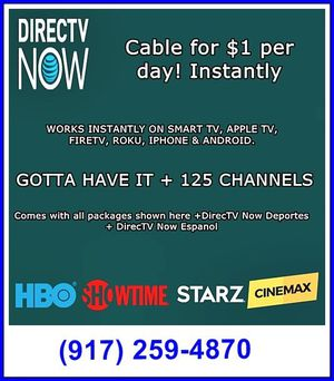cut your cable bill in half for Sale in New York, NY