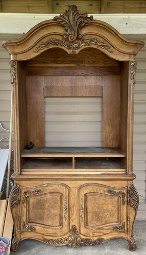 Solid wood furniture dresser mirror for Sale in Jesup, GA