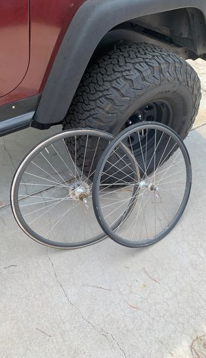 Skinny bicycle wheels for Sale in Phoenix, AZ
