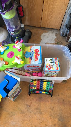 Assorted games and puzzles, 35 total for Sale in Cedar Hill, TX