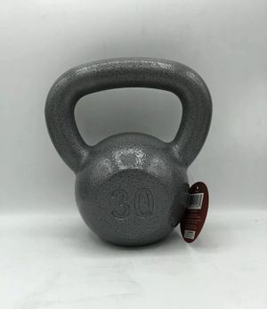 Weider Kettlebell 30LB Cast Iron with Hammertone Finish BRAND NEW for Sale in Tacoma, WA