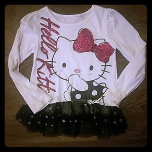 Hello Kitty Top with Tutu Trim for Sale in West Jordan, UT