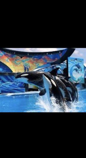 Seaworld Orlando tickets for Sale in Seattle, WA