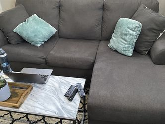 Gray Reversible Sectional for Sale in Mamaroneck,  NY