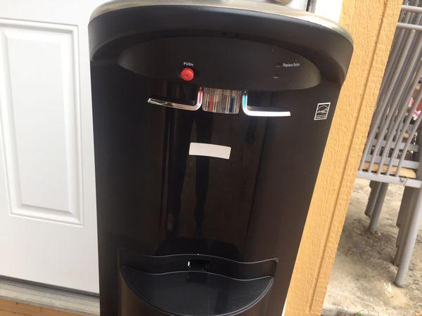 Hot/Cold Water Dispenser (bottle load below)